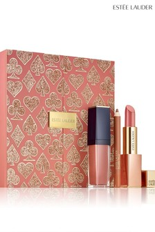 Estée Lauder High Roller Look In A Box - Nude Lip Set