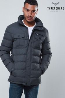 Threadbare Quilted Four-Pocket Jacket