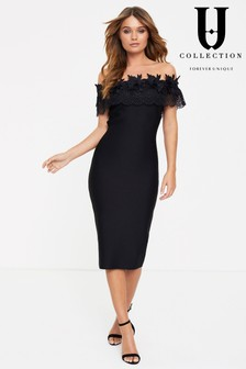 Forever Unique Bardot Bodycon Dress