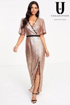 Платье макси Forever Unique с запахом