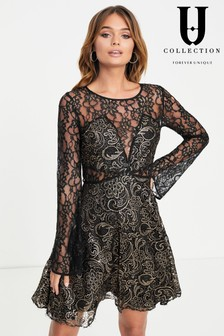 Sukienka rozkloszowana Forever Unique