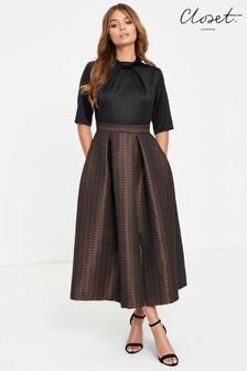 فستان بتنورة ممتلئة من Closet
