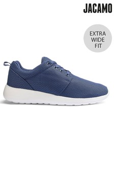 Jacamo Extra Wide Fit Value Lace Up Trainer