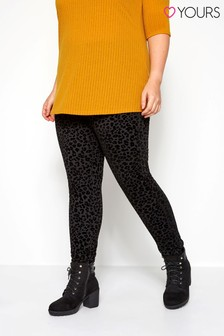 Yours Curve Ponte Leggings