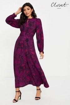 فستان بكم منفوخ منCloset
