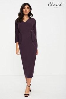 Closet Dolman Sleeve Pencil Dress