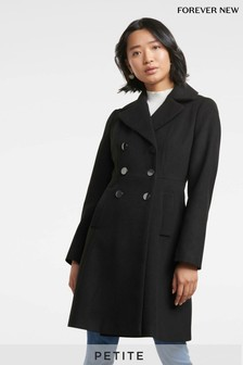 Forever New Petite Button Up Coat