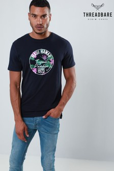 Threadbare Printed Graphic Crew Tee