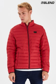 Blend Funnel Quilted Jacket