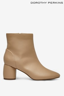 Dorothy Perkins Addie Cylinder Heel Ankle Boot