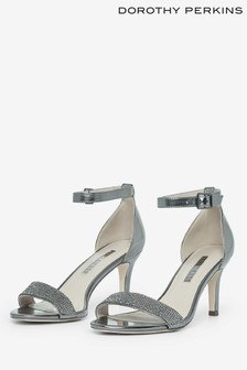 Dorothy Perkins Two Part Gem Heeled Sandals