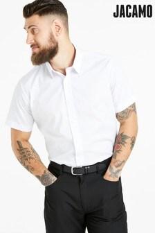 Jacamo Formal Plain Short Sleeve Shirt