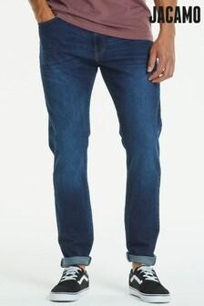 Jacamo Plus Size Stretch Slim Washed Jeans