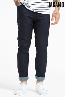 Jacamo Plus Size Slim Coated Jeans