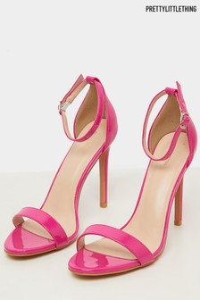 PrettyLittleThing Clover Barely There Sandals