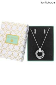 Jon Richard Crystal Russian Ring Set - Gift Boxed