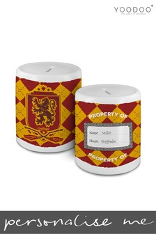 Personalised Harry Potter House Gryffindor Money Bank By YooDoo