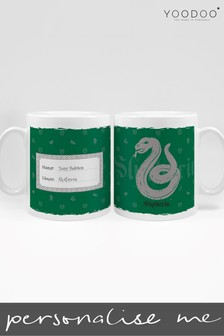 Personalised Harry Potter Slytherin House Mug By YooDoo