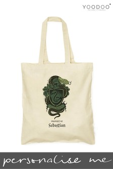 Personalised Harry Potter Slytherin House Shopper By YooDoo