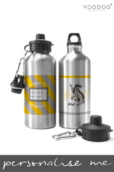 Personalised Harry Potter Hufflepuff House Water Bottle By YooDoo