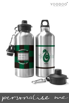 Personalised Harry Potter Slytherin House Water Bottle By YooDoo
