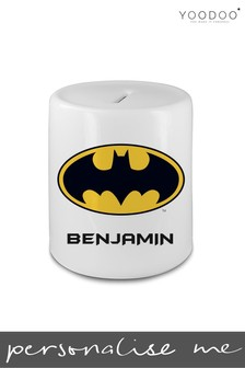 Personalised Batman Ceramic Money Bank By YooDoo