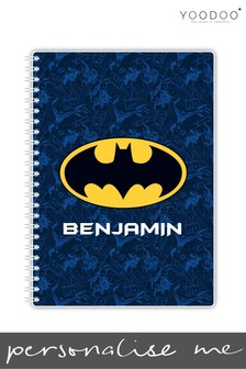 Personalised A5 Batman Notebook By YooDoo