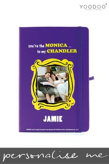 Personalised Friends Notebook By YooDoo - Monica And Chandler