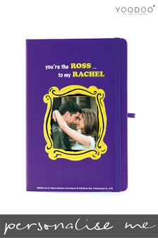 Personalised Friends Notebook By YooDoo - Ross And Rachel
