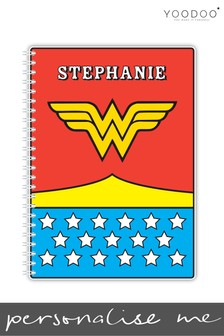 Personalised Wonder Woman A5 Notebook By YooDoo