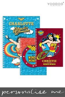 Personalised Wonder Woman Notepad Bundle By YooDoo