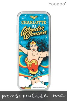 Personalised Wonder Woman Pencil Tin by YooDoo