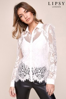 Lipsy Lace Shirt