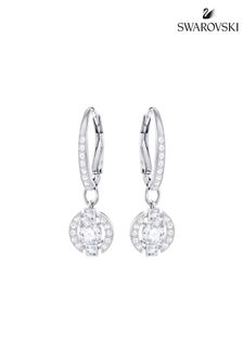Swarovski Sparkling Dance Round Pierced Earrings