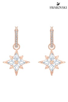 Swarovski Symbolic Star Hoop Pierced Earrings