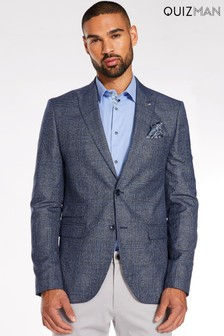 Quizman 2 Button Checked Blazer