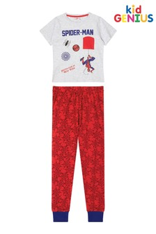 Kids Genius Spiderman Pocket PJ Set