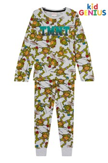 Kids Genius AOP Teenage Mutant Ninja Turtles PJ Set