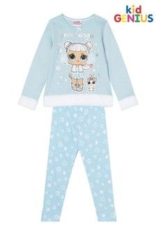 Kids Genius Snow Angel Fur Trim PJ Set