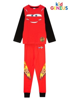 Kids Genius Lightning Mcqueen Character PJ Set