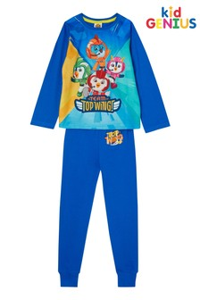 Kids Genius Top Wings Younger Boys PJ Set