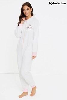 Missimo Nightwear Aristocats Marie Fleece Sleepsuit