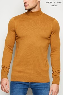 New Look Smart Roll Neck Jumper