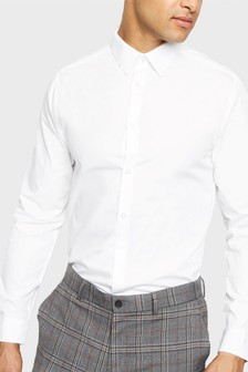 New Look 2 Pack Formal Poplin Shirt
