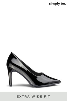 Simply Be Extra Wide Foot Joy Court Shoe