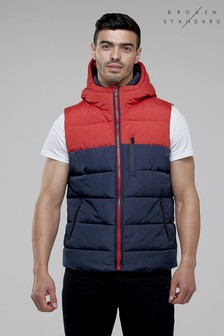 Broken Standard Colour Block Gilet