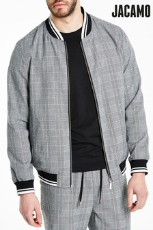 Jacamo Regular Check Bomber Jacket