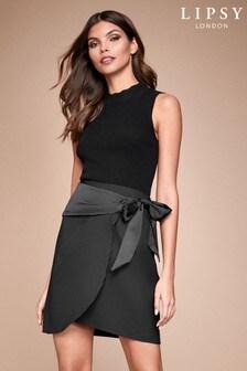 Lipsy Belted Mini Skirt