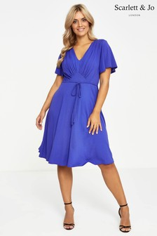 Scarlett & Jo Fit And Flare Dress