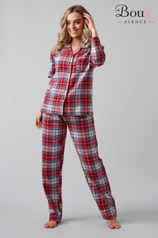 Boux Avenue Winter Check PJ Set